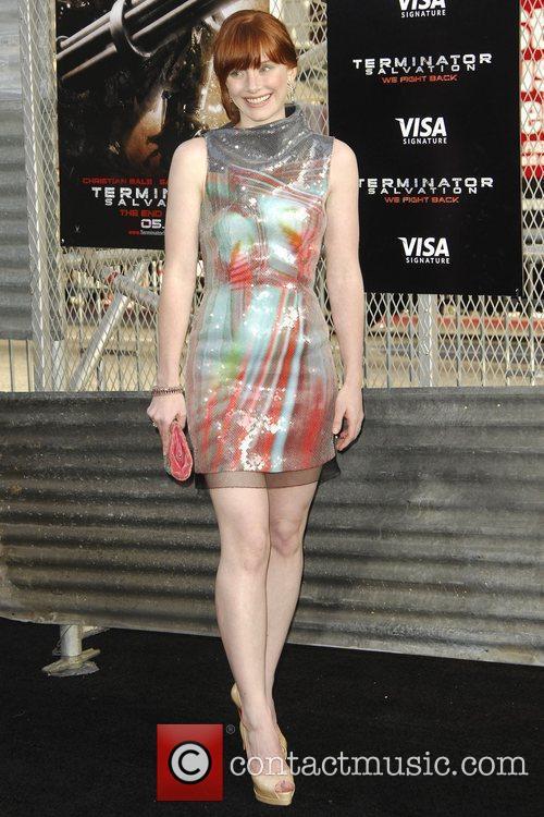 Bryce Dallas Los Angeles Premiere of 'Terminator Salvation'...