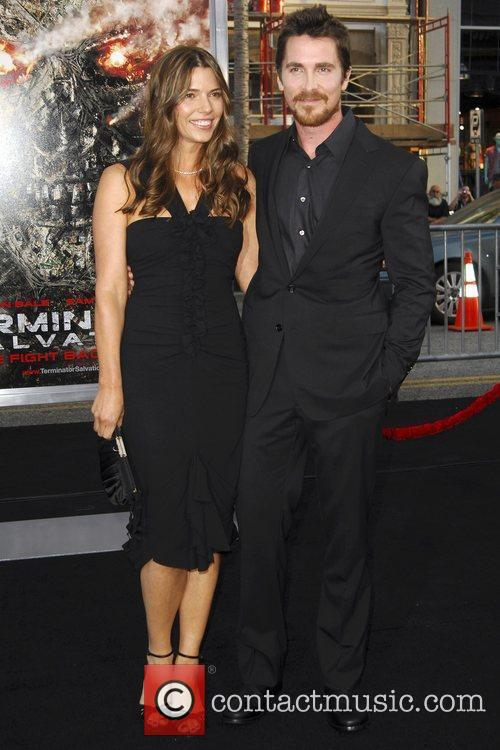 Sibi Blazic and Christian Bale Los Angeles Premiere...