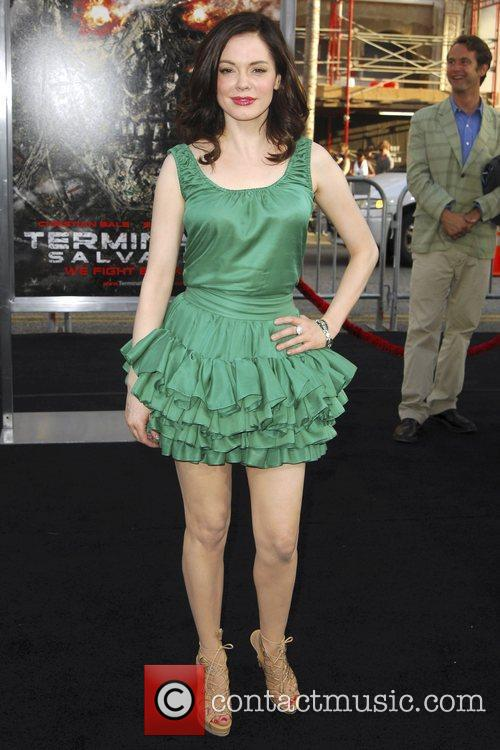 Rose McGowan Los Angeles Premiere of 'Terminator Salvation'...