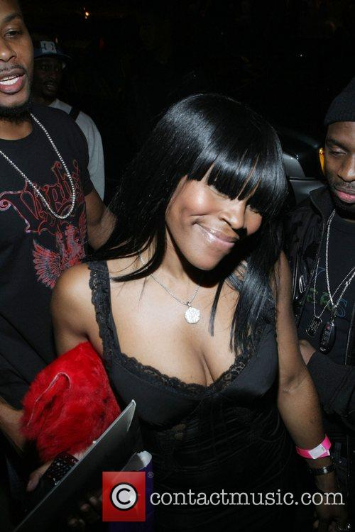 Nikki Taylor Teyana Taylor's 18th birthday party held...