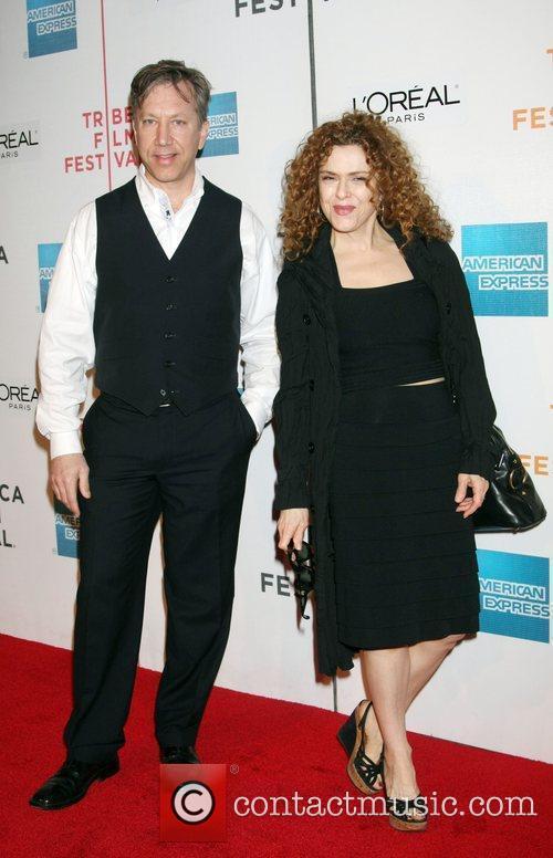 Rich Lindy, Bernadette Peters Tribeca Film Festival 2009...