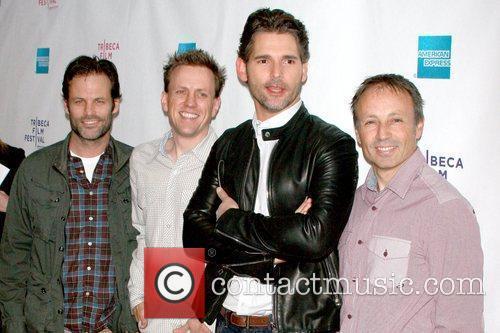 Conor O'Neill, Matt Hill, Eric Bana and Peter...