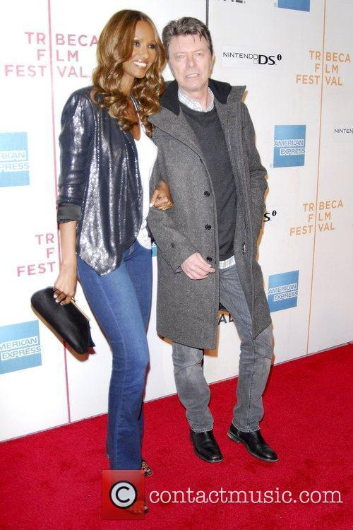 Iman, David Bowie, Tribeca Film Festival