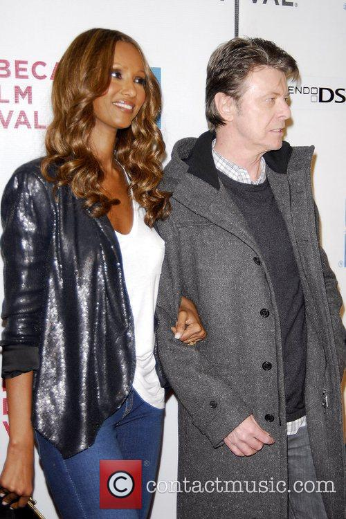 Iman and David Bowie 2