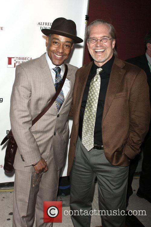 Giancarlo Esposito and Alan Brooks 2
