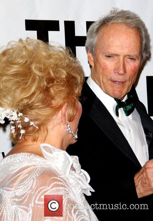 Debbie Reynolds and Clint Eastwood  'The Thalians'...