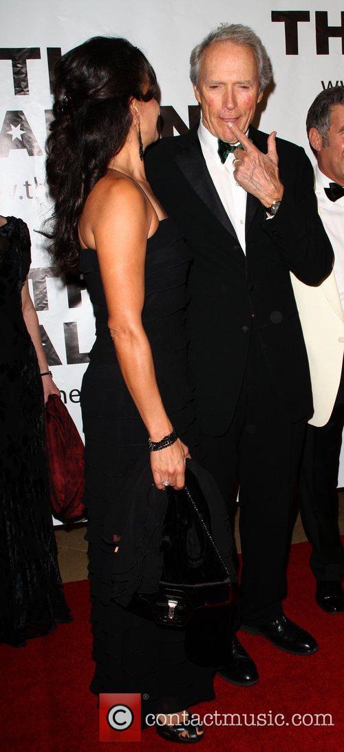 Dina Ruiz Eastwood and Clint Eastwood 5