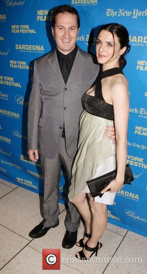 Darren Aronofsky and Rachel Weisz The 46th New...
