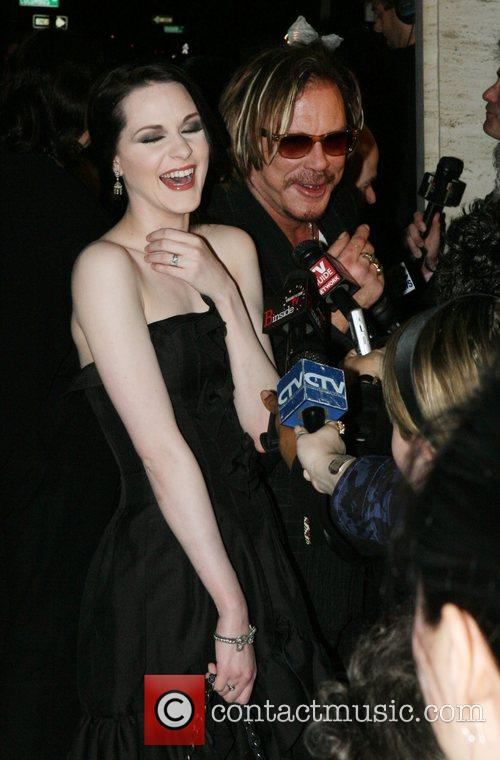 Evan Rachel Wood and Mickey Rourke 5