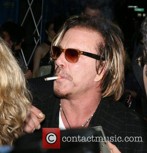 Mickey Rourke The 46th New York Film Festival...