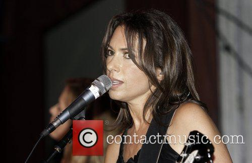 Susanna Hoffs The Bangles perform an intimate session...