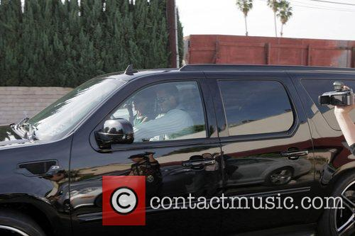 Victoria Beckham and David Beckham  leaving Nobu...