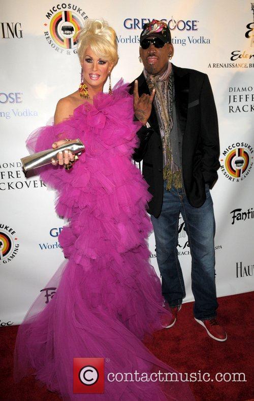 Elaine Lancaster and Dennis Rodman 4