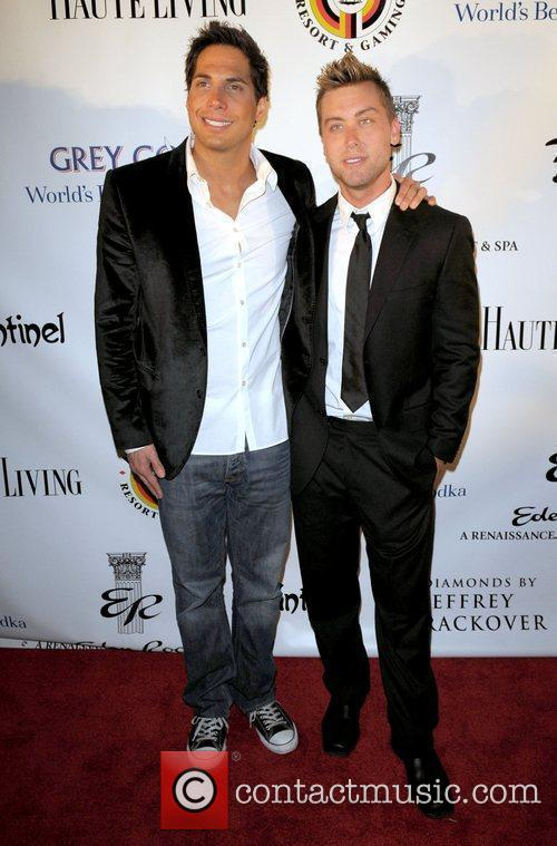 Joe Francis and Lance Bass 2