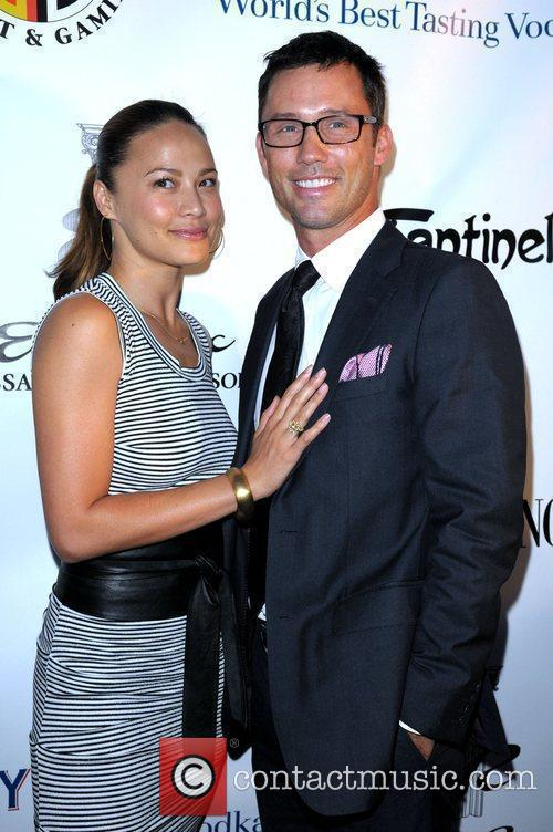 Moon Bloodgood and Jeffrey Donovan 2