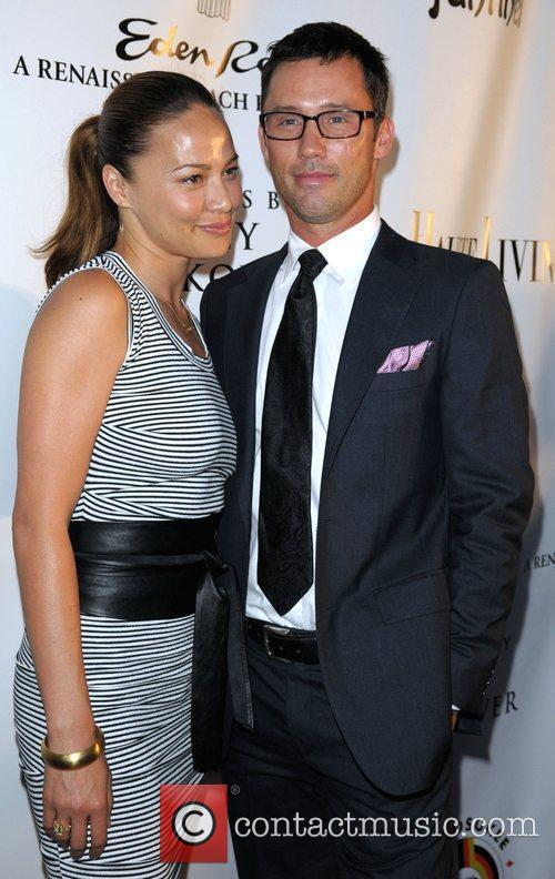 Moon Bloodgood and Jeffrey Donovan 3