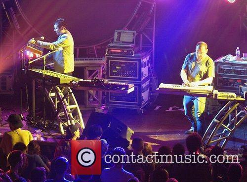 The Crystal Method performs at Webster Hall