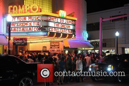 Cameo exterior 99 Jamz and Def Jam Records...