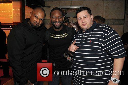 HMG Founder Michael Gardner, DJ Irie and Phil...
