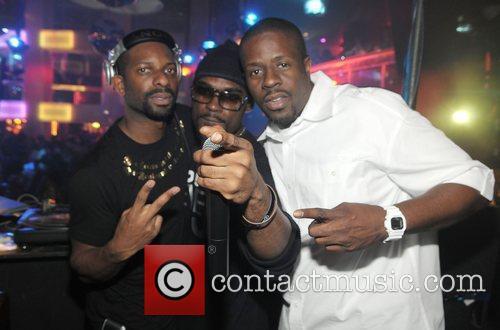DJ Irie, Stevie J and DJ Griot 99...