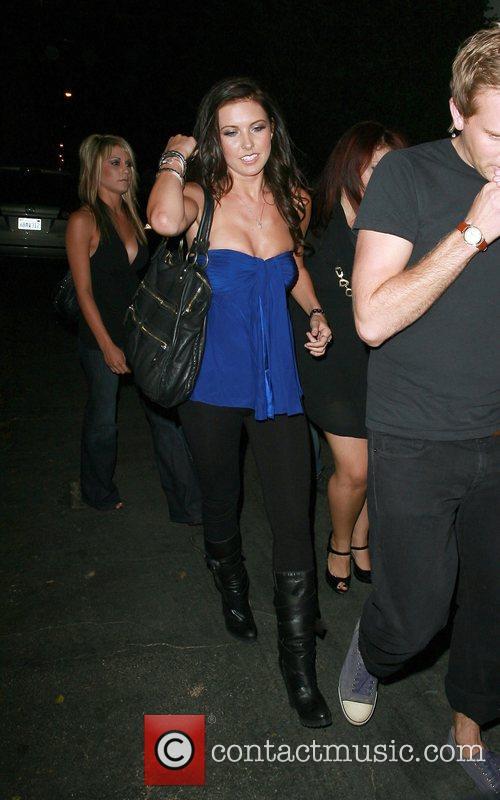 Audrina Patridge  arrives at the Winston club...