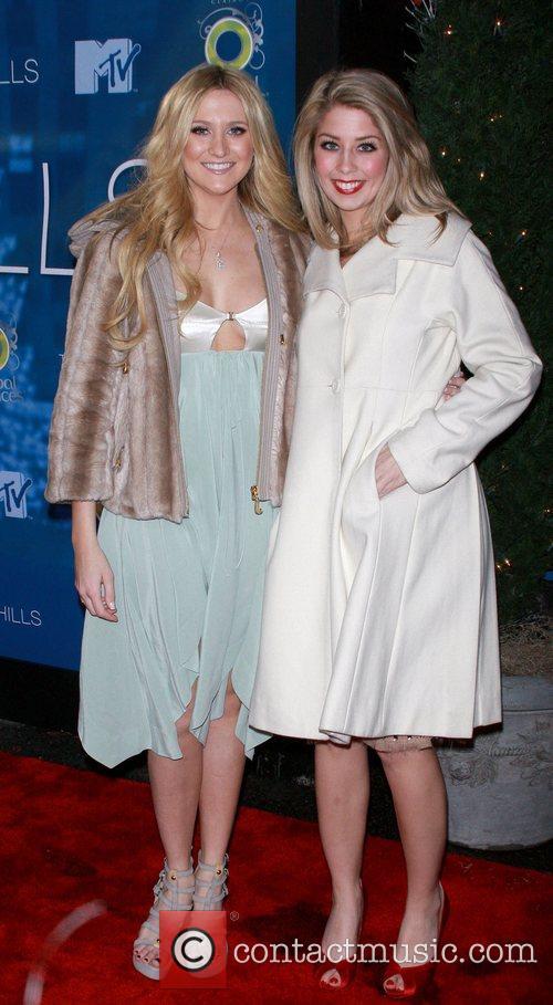 Stephanie Pratt and Heidi Montag celebrate the Season...