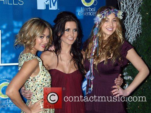 Lauren Conrad, Audrina Patridge, Whitney Port  celebrate...
