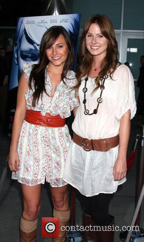 Briana Evigan and Vanessa Evigan World Premiere of...