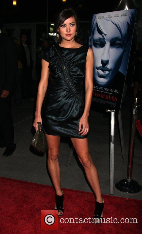 Jessica Stroup World Premiere of 'The Informers' held...