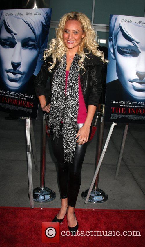 Lauren Mayhew World Premiere of 'The Informers' held...