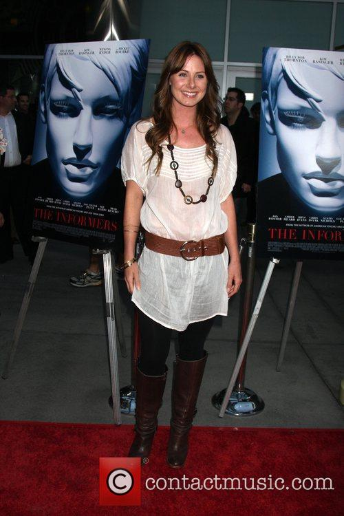 Vanessa Evigan World Premiere of 'The Informers' held...