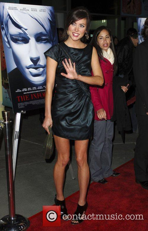 Jessica Stoup World Premiere of 'The Informers' held...