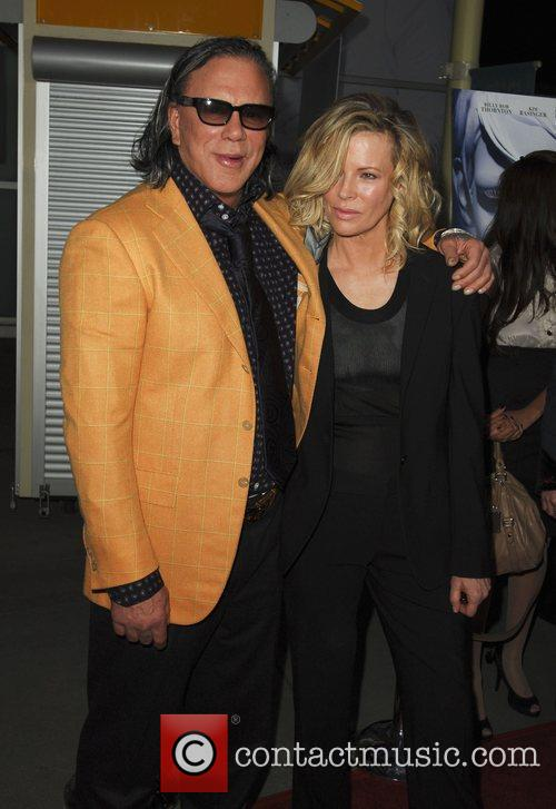 Mickey Rourke and Kim Bassinger World Premiere of...