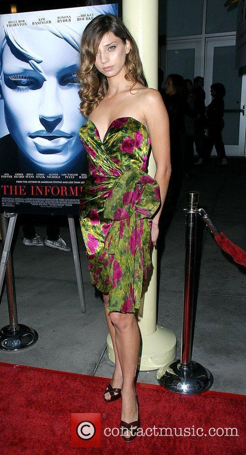 Angela Sarafyan World Premiere of 'The Informers' held...