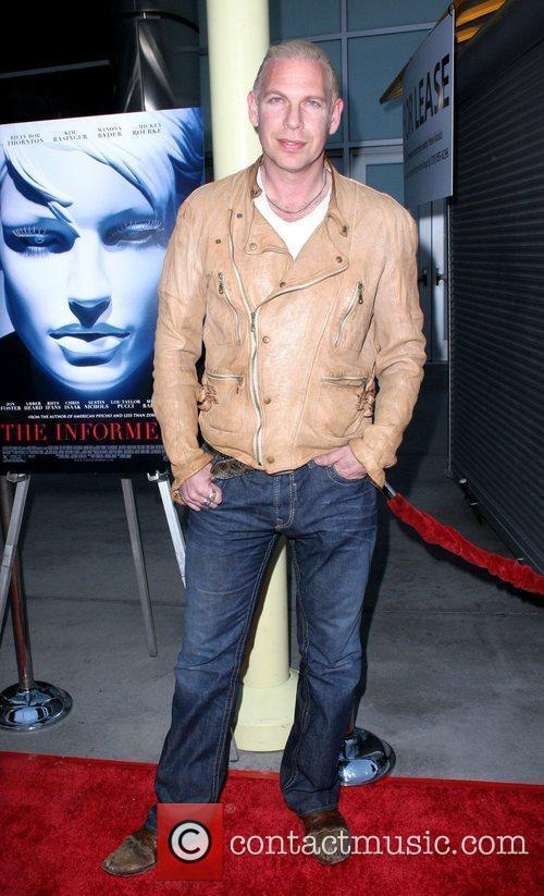 Ash Baron-Cohen World Premiere of 'The Informers' held...
