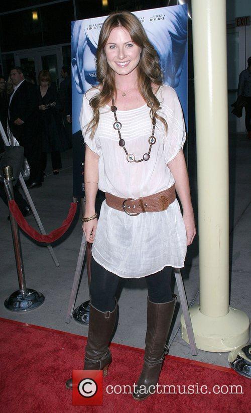 Vanessa Lee Evigan World Premiere of 'The Informers'...