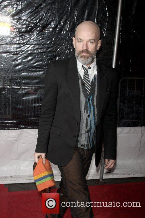 Michael Stipe at Cinema Society Hosts a Screening...
