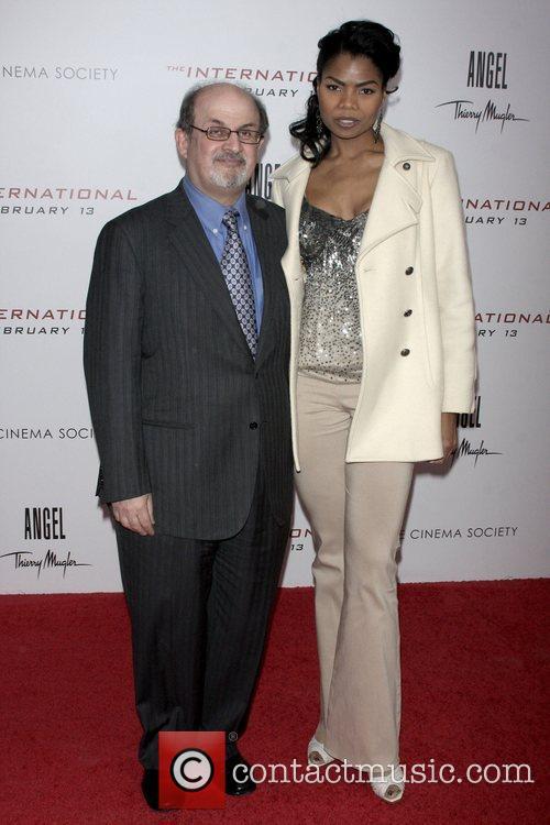 Salman Rushdie and Pia Glenn 1