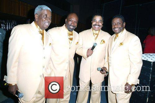 The Manhattans performing at James L. Knight Center...