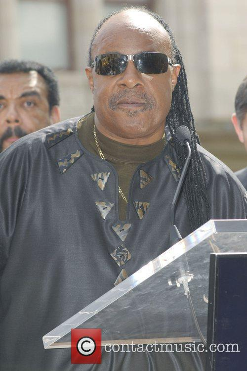 Stevie Wonder, Star On The Hollywood Walk Of Fame and Walk Of Fame 11