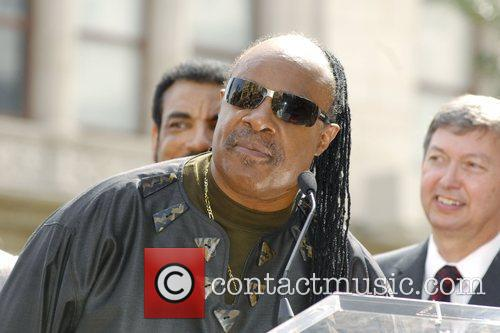 Stevie Wonder, Star On The Hollywood Walk Of Fame and Walk Of Fame 7