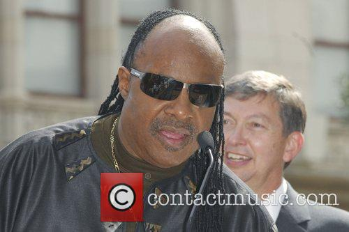 Stevie Wonder, Star On The Hollywood Walk Of Fame and Walk Of Fame 6