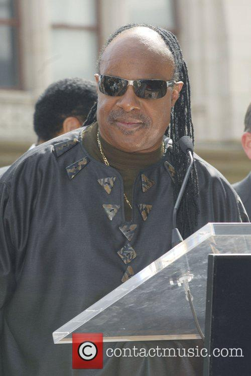 Stevie Wonder, Star On The Hollywood Walk Of Fame and Walk Of Fame 9