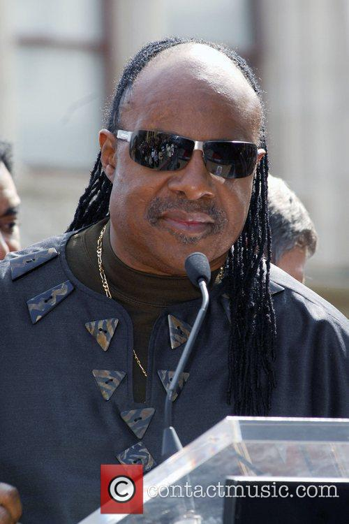 Stevie Wonder, Star On The Hollywood Walk Of Fame and Walk Of Fame 8