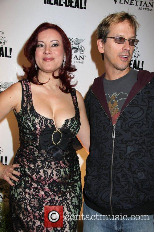 Jennifer Tilly, Phil Laak Premiere of 'The Real...