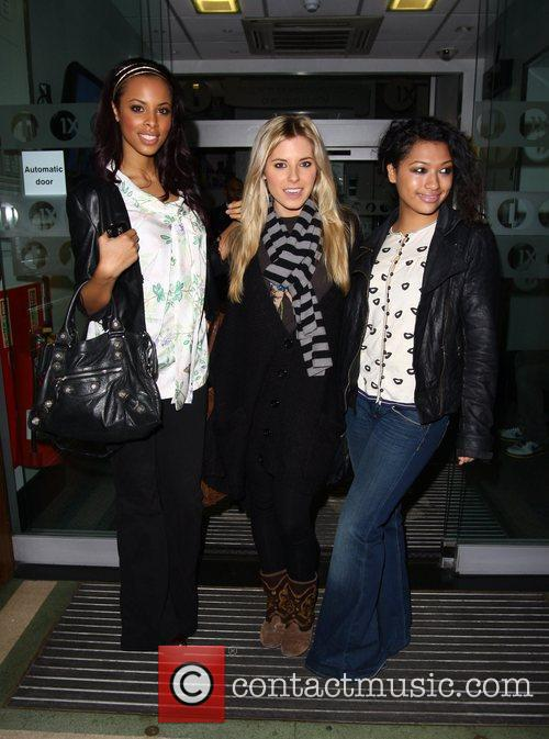 Rochelle Wiseman, Mollie King and Vanessa White of...