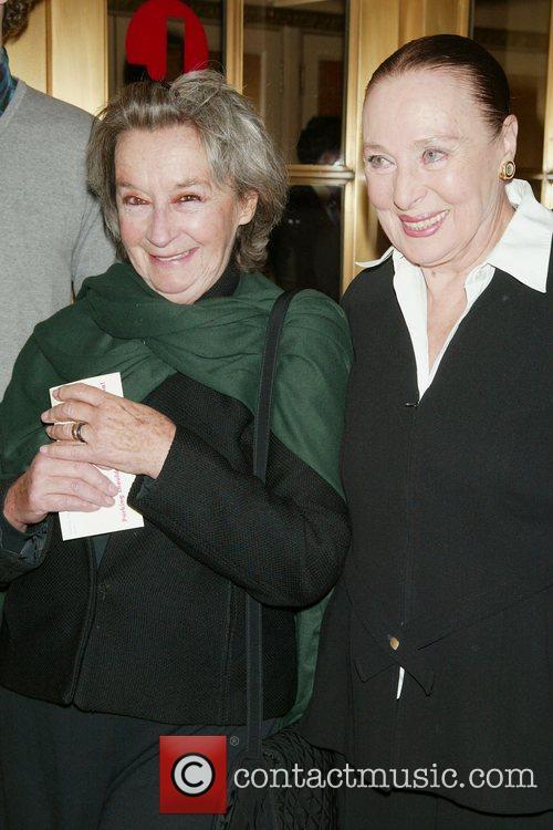 Zoe Caldwell and Rita Gam