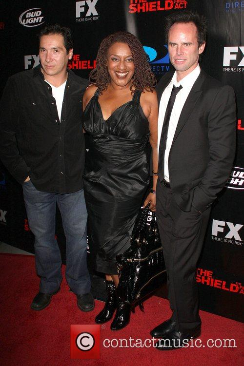 Benito Martinez, CCH Pounder and Walt Goggins Screening...