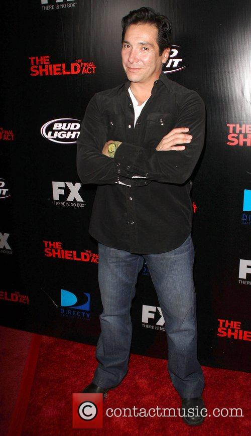 Benito Martinez Screening of 'The Shield' held at...