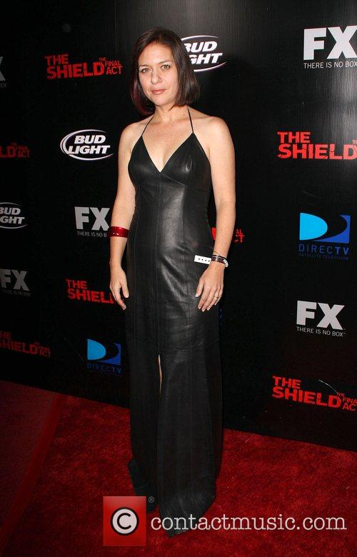 Cathy Cahlin Screening of 'The Shield' held at...